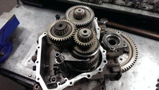 Vauxhall M32 gearbox in our Lanarkshire gearbox workshop