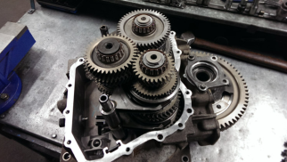 Vauxhall M32 gearbox in our Lanarkshire gearbox workshop